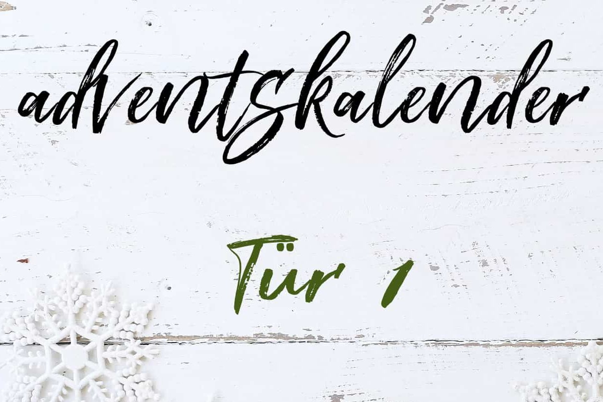 Adventskalender Tür 1